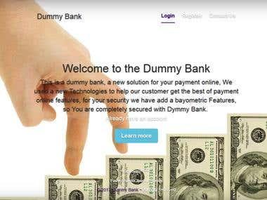 Dummy Bank