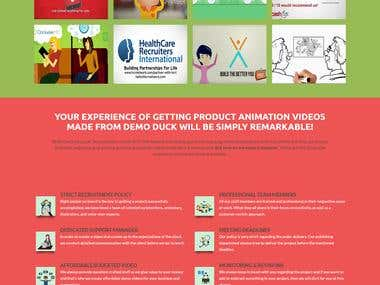 Video Production Firm Website