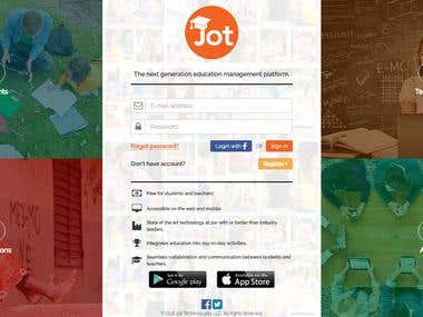 JOT Academy Application