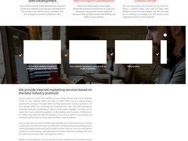 Web Development and SEO Services Site