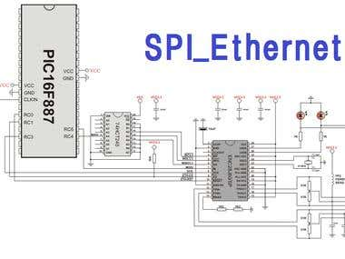 Ethernet - pic microcontroller code