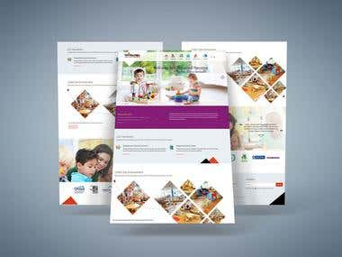 Kids Nursery Web Design