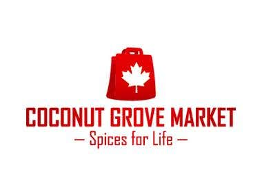 "Logo design ""Coconut Grove Market"""