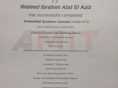 Embedded Systems Diploma