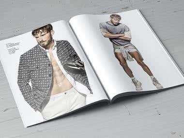 Magazine design Azarenko