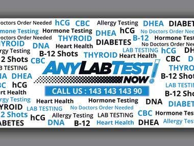 Banner For Lab
