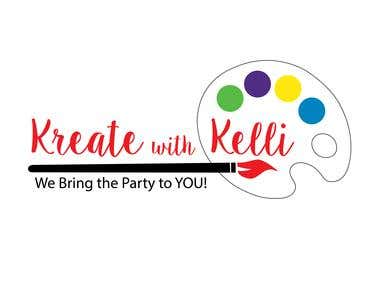 Kreate with Kelly Logo