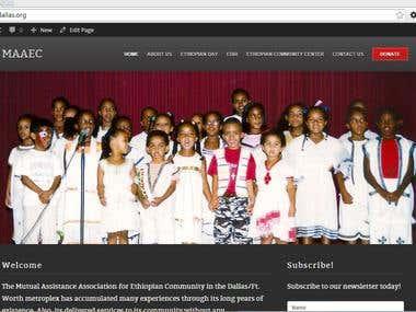 MAAEC - make wordpress website