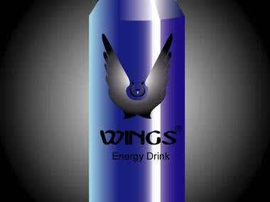 logo + Can design