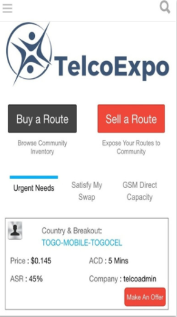 Iphone App - Telco Expo