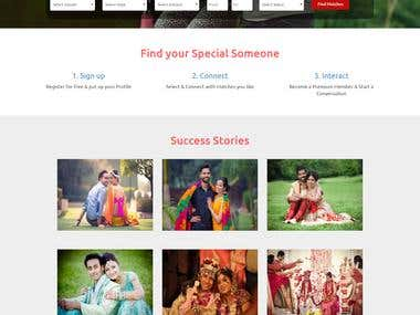 Matrimonial Website