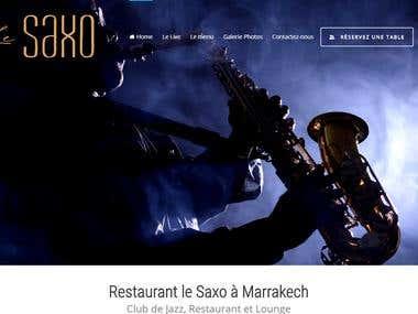 Restaurant Le Saxo Marrakech