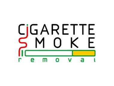 "Logo design ""Cigarette Smoke Removal"""