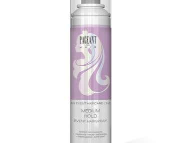 Hair Spray Packaging