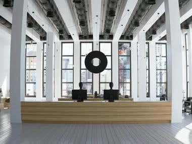 Fashion office design