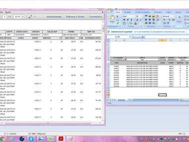 Extract information from a PDF file to Excel