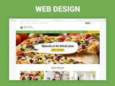 Web Design Coupons Site