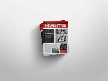 Newsletter Brochure