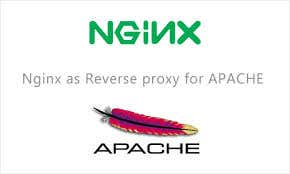 Nginx as reverse proxy with apache.