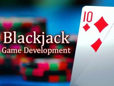 Blackjack card game development