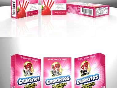 Candy Box branding
