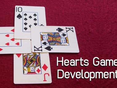 Hearts Game Development