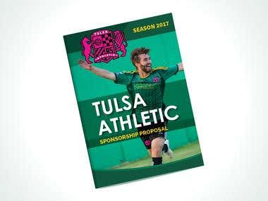 Brochure Design For Tulsa Athletic