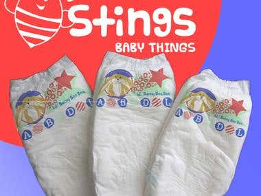 Diaper Design Mock Up