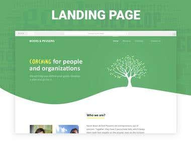 Landing Page Life Coaching