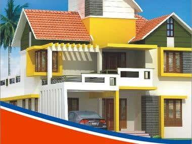 Real estate company Fabulous construction voucher design