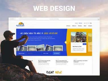 Web Design Tourist Company