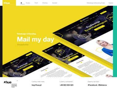 WEBDESIGN AND BRANDING STUDIO RESPONSIVE WORDPRESS WEBSITE