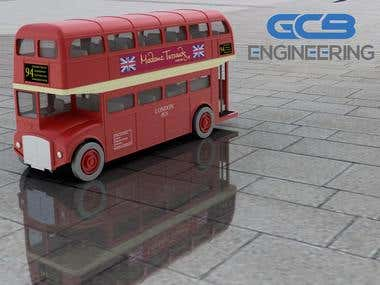 Double Deck Bus Toy
