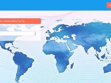 Internation MOBILE,DTH,INTERNET REcharge webportal