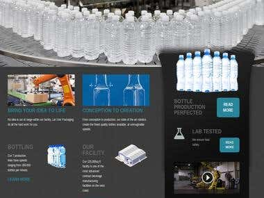 Packaging company showcase portal