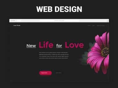 Web Design Dating Website
