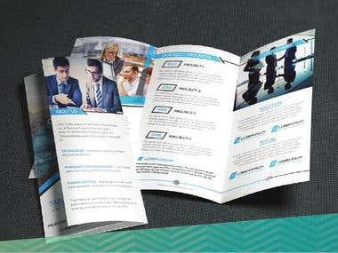 A4 Brochure / Trifold
