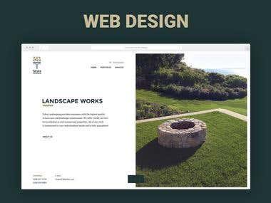 Web Design Landscaping Company