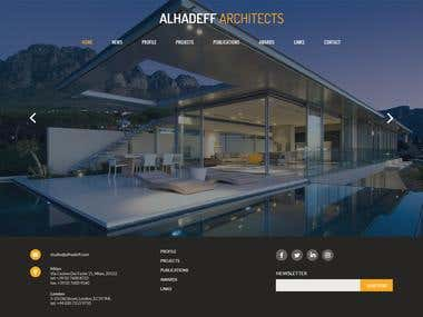 Create an Architect Website