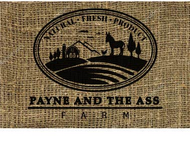 PAYNE AND THE ASS FARM LOGO