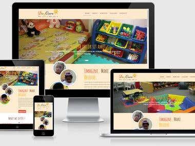 A daycare website