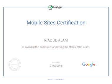 Google AdWord Certificate