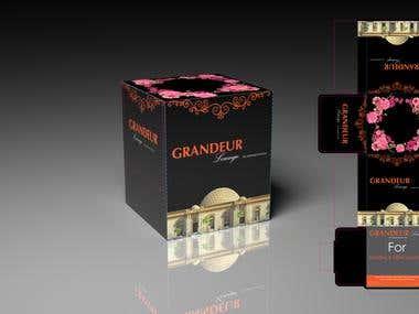 Grandeur Lounge Tissue Box