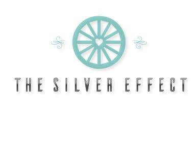 silver effect logo