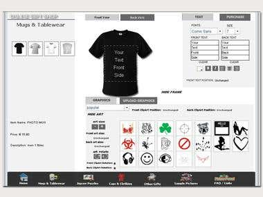 T-shirt oscommerce