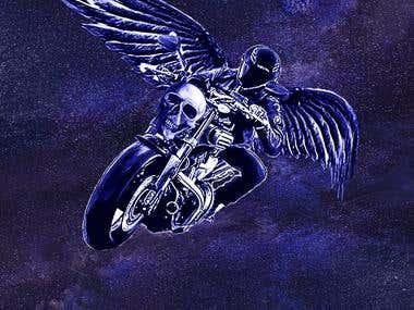 Space Biker