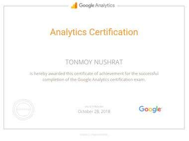Analyties Certification