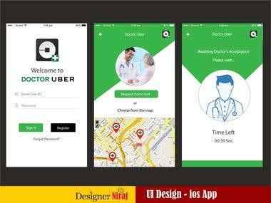 Doctor Uber iOS App