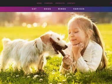 Max Pet Care Landing Page