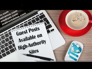 High Authority Guest Postings